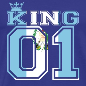 couple land king 01 prince Guatemala - Men's Premium T-Shirt