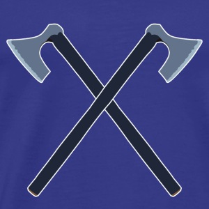 double axes - Men's Premium T-Shirt