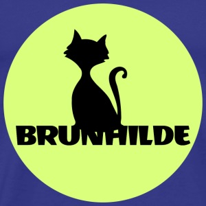 Brunhilde first name - Men's Premium T-Shirt