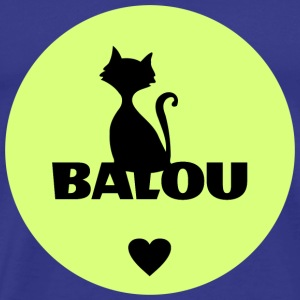 Balou cats pets name - Men's Premium T-Shirt