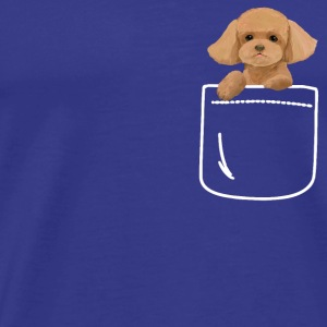Toy Poodle Dog In Your Pocket Cute Puppy