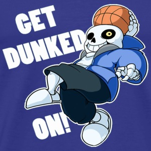 Sans Undertale GET DUNKED ON - Men's Premium T-Shirt