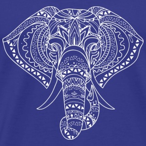 GIFT - ELEPHANT ART WHITE - Men's Premium T-Shirt