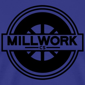 Millwork CS Wheel - Men's Premium T-Shirt