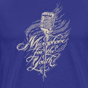 Microphone for the youth - Men's Premium T-Shirt