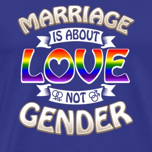 Marriage Gender Gay Pride - Men's Premium T-Shirt