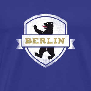 berlin bear coat of arms german capital Europe tri - Men's Premium T-Shirt