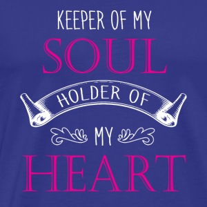 Keeper of my soul holder of my heart shirts - Men's Premium T-Shirt