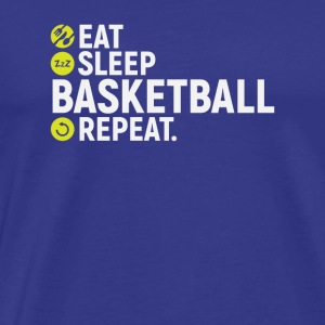 Eat, sleep, Basketball, repeat - Gift - Men's Premium T-Shirt