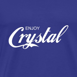 enjoy CRYSTAL - Men's Premium T-Shirt
