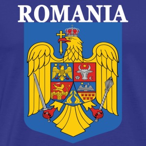 Romania National Eagle Crest Premium - Men's Premium T-Shirt