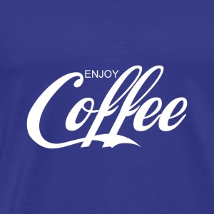 enjoy COFFEE - Men's Premium T-Shirt