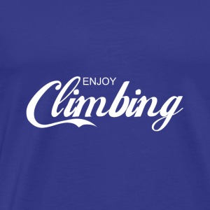 enjoy CLIMBING - Men's Premium T-Shirt