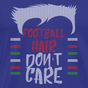 Ugly sweater christmas gift for football - Men's Premium T-Shirt