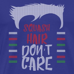 Ugly sweater christmas gift for squash - Men's Premium T-Shirt