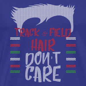 Ugly sweater christmas gift for track & field - Men's Premium T-Shirt