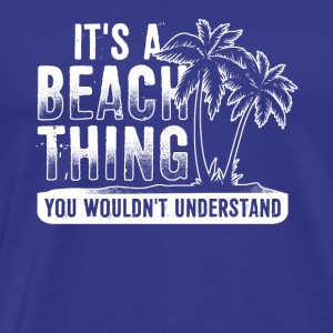 Beach Beachparty Travel Alcohol Sex Gift Present - Men's Premium T-Shirt