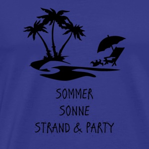 GIFT - SUMMER SUN BEACH AND PARTY - Men's Premium T-Shirt
