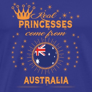 love princesses come from AUSTRALIA - Men's Premium T-Shirt