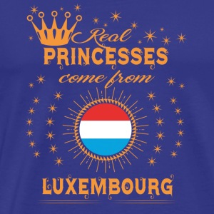 love princesses come from LUXEMBOURG - Men's Premium T-Shirt