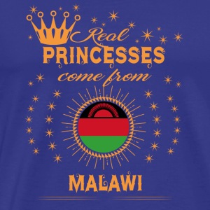 love princesses come from MALAWI - Men's Premium T-Shirt