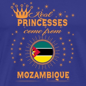 love princesses come from MOZAMBIQUE - Men's Premium T-Shirt