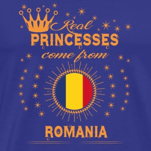 love princesses come from ROMANIA - Men's Premium T-Shirt