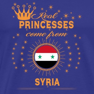 love princesses come from SYRIA - Men's Premium T-Shirt