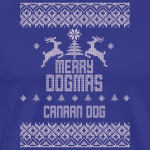 Merry Dogmas Canaan Dog - Men's Premium T-Shirt