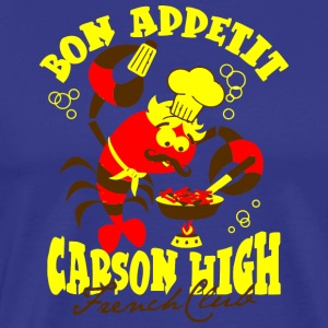 Bon Appetit Carson High French Club - Men's Premium T-Shirt