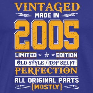 Vintaged Made In 2005 Limited Editon - Men's Premium T-Shirt