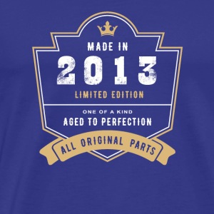 Made In 2013 Limited Edition All Original Parts - Men's Premium T-Shirt