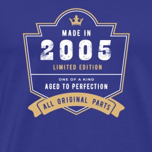 Made In 2005 Limited Edition All Original Parts - Men's Premium T-Shirt