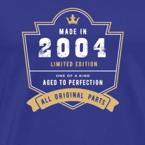 Made In 2004 Limited Edition All Original Parts - Men's Premium T-Shirt