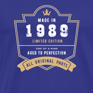 Made In 1989 Limited Edition All Original Parts - Men's Premium T-Shirt