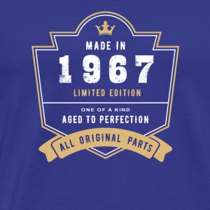 Made In 1967 Limited Edition All Original Parts - Men's Premium T-Shirt