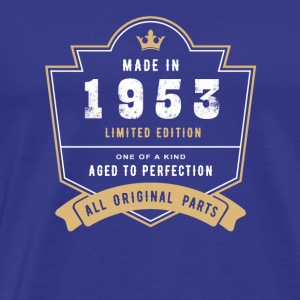 Made In 1953 Limited Edition All Original Parts - Men's Premium T-Shirt