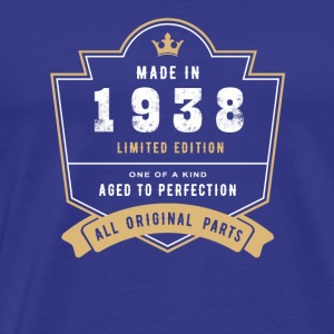 Made In 1938 Limited Edition All Original Parts - Men's Premium T-Shirt