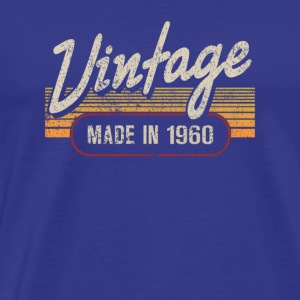 Vintage MADE IN 1960 - Men's Premium T-Shirt