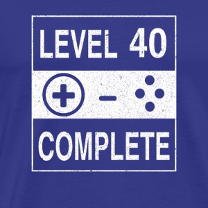 Level 40 Complete - Men's Premium T-Shirt