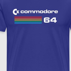 Commodore 64 Retro Computer - Men's Premium T-Shirt