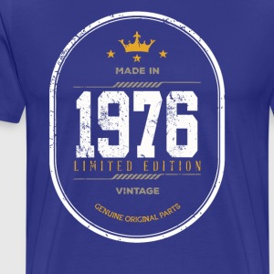 Made In 1976 Limited Edition Vintage - Men's Premium T-Shirt
