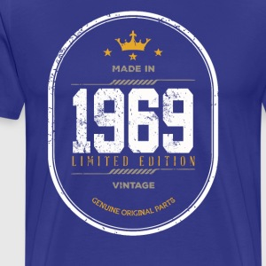 Made In 1969 Limited Edition Vintage - Men's Premium T-Shirt