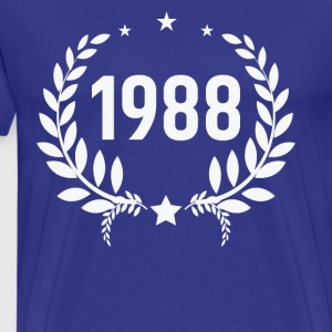 Born in 1988 - Men's Premium T-Shirt
