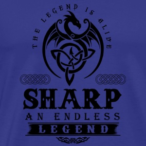 SHARP - Men's Premium T-Shirt