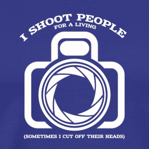 photographer not just a shot in the dark - Men's Premium T-Shirt