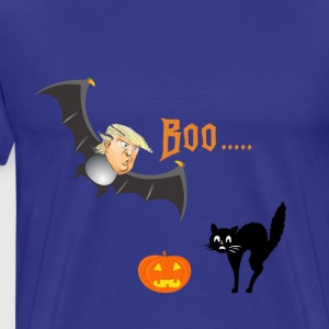 Happy Halloween bat Trump design shirt - Men's Premium T-Shirt
