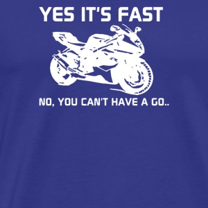 yest is fast - Men's Premium T-Shirt
