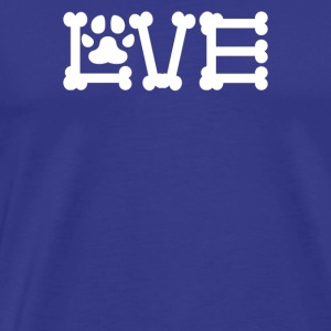 Love Dogs - Men's Premium T-Shirt