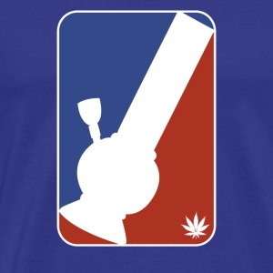 Major League Bong Marijuana Weed 420 Stoner Humor - Men's Premium T-Shirt